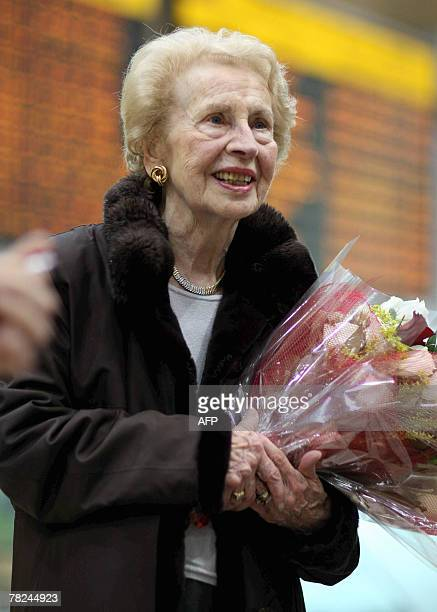 Mimi Reinhardt the 92yearold secretary of Oskar Schindler a German industrialist who saved the lives of hundreds of Jews during the Nazi Holocaust...