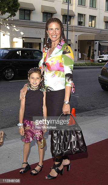 Mimi Rogers and daughter Lucy during A Testoni and Movieline Host Grand ReOpening of Rodeo Drive Store at A TestoniBeverly Hills Store in Beverly...