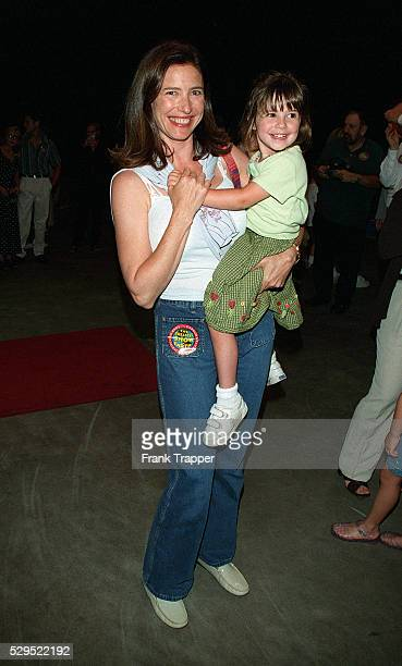 Mimi Rogers and her daughter Lucy Ciaffa