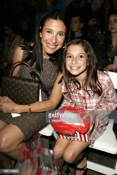 Mimi Rogers and Lucy RogersCiaffa during MercedesBenz Spring 2005 Fashion Week at Smashbox Studios Coco Kliks Front Row and Backstage at Smashbox...