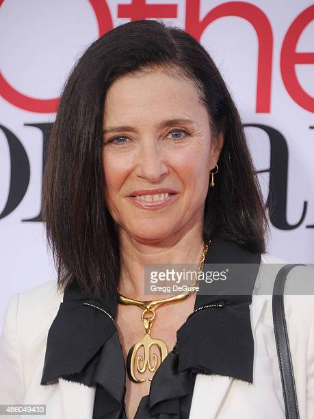 Mimi Rogers arrives at the Los Angeles premiere of The Other Woman at Regency Village Theatre on April 21 2014 in Westwood California