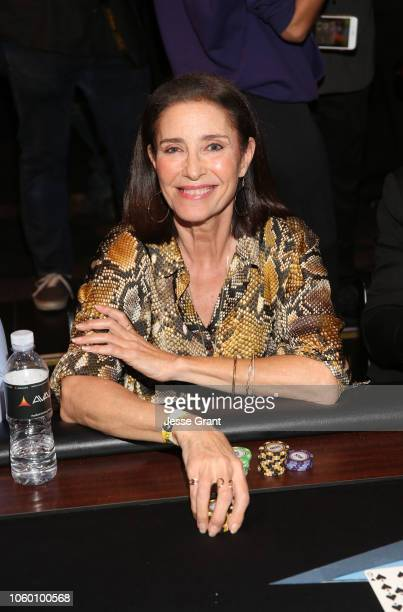 Mimi Rogers attends Heroes For Heroes: Los Angeles Police Memorial Foundation Celebrity Poker Tournament at Avalon Hollywood on November 10, 2018 in...
