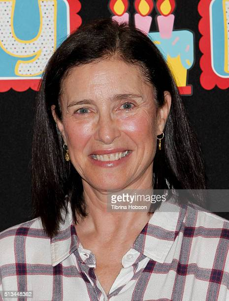 Mimi Rogers attends the Read Across America event at Lindbergh Elementary School on March 2, 2016 in Lynwood, California.