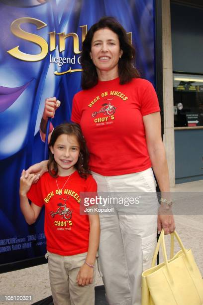 Mimi Rogers daughter during Sinbad Legend Of The Seven Seas Premiere Photos by Jon Kopaloff at Loew's Century City Cinemas in Century City California...