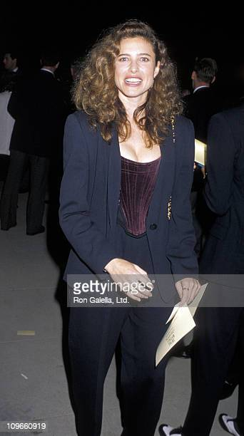 Mimi Rogers during Abservatory Los Angeles Post Party May 31 1990 at Griffith Park in Los Angeles California United States