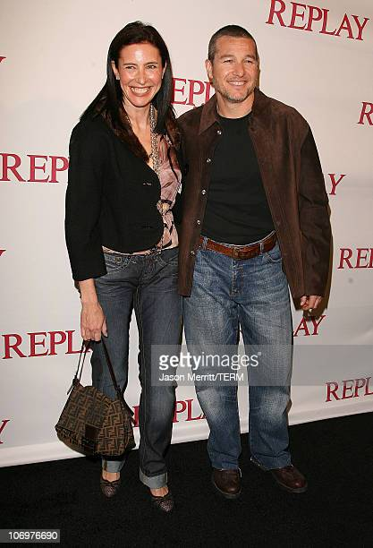 Mimi Rogers during Brandon Davis and Replay Celebrate The Los Angeles Replay Store Opening and Launch of The Brandon Davis Jean April 24 2006 at...
