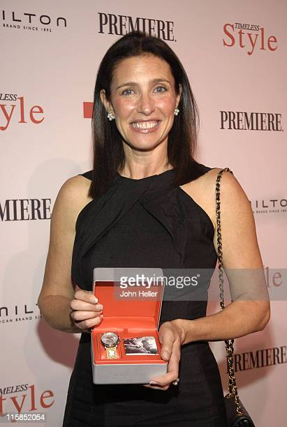 Mimi Rogers during Costume Designers Honored in Hollywood at the 3rd Annual Timeless Style Awards in Los Angeles California United States
