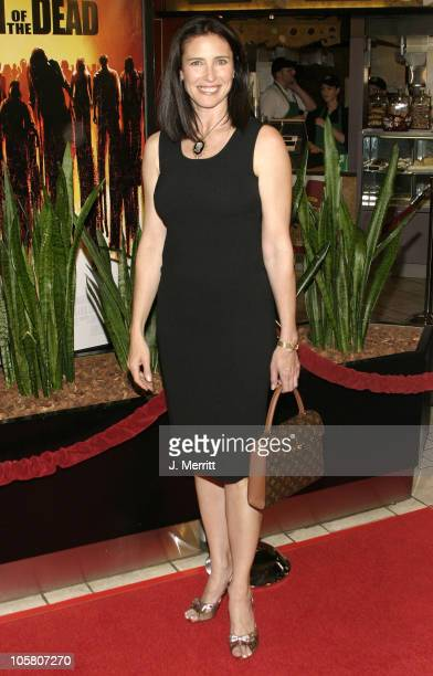 Mimi Rogers during Dawn of The Dead Los Angeles Premiere at Cineplex Beverly Center Theatres in Beverly Hills California United States