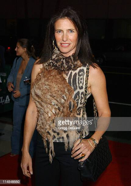 Mimi Rogers during 'Intolerable Cruelty' Premiere Arrivals at Academy Theatre in Beverly Hills California United States
