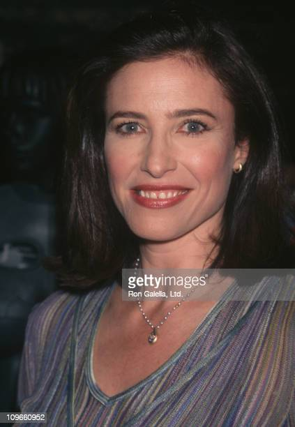 Mimi Rogers during Presentation of Memorabilia From Lost in Space April 2 1998 at West Village in New York City New York United States