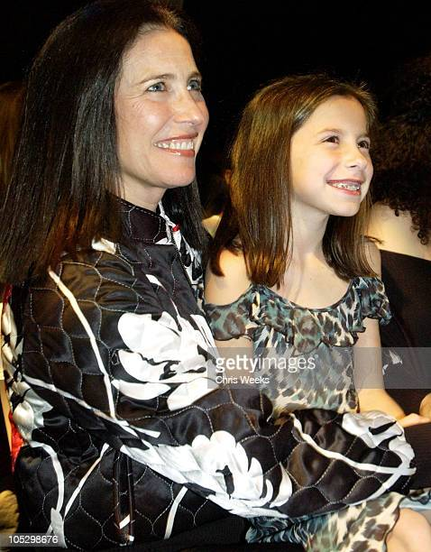 Mimi Rogers during Smashbox LA Fashion Week Spring 2004 Alvin Valley Show at Smashbox Studios in Culver City California United States