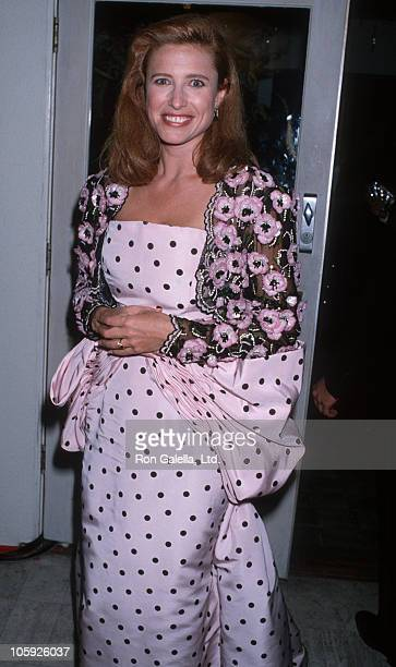 Mimi Rogers during Swifty Lazar's Post Oscar Party at Spago's Restaurant in Hollywood, California, United States.