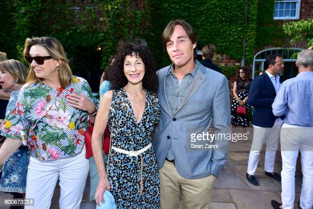 Mimi Saltzman and Russell Ragland attend Maison Gerard Presents Marino di Teana A Lifetime of Passion and Expression at Michael Bruno and Alexander...