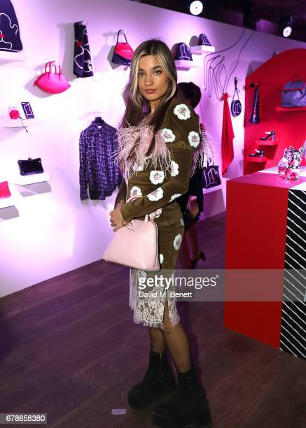 Mimi Wade attends the Lulu Guinness AW17 launch celebration at The London EDITION on May 4 2017 in London England