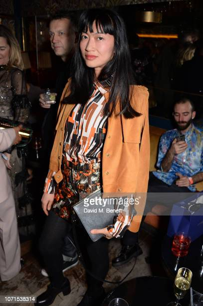 Mimi Xu attends a party hosted by Katie Grand and Jefferson Hack in honour of Miuccia Prada winner of the Outstanding Achievement award at the 2018...