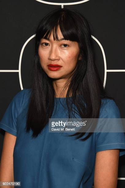 Mimi Xu attends the Brits Awards 2018 After Party hosted by Warner Music Group Ciroc and British GQ at Freemasons Hall on February 21 2018 in London...