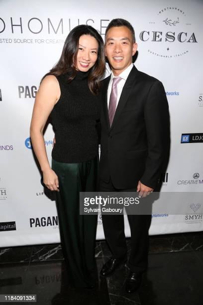 Mimi Yeung and Albert Niu attend PAGANINI HONORS PAGANINI A Tribute To Niccolo Paganini By Maria Elena Paganini on October 28 2019 in New York City