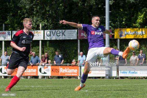 Mimoun Mahi of FC Groningen during the Club Friendly match between vv 't Fean '58 v FC Groningen at the Sportpark It Ketting on July 7 2018 in...