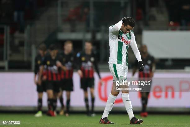Mimoun Mahi of FC Groningen during the Dutch Eredivisie match between Excelsior v FC Groningen at the Van Donge De Roo Stadium on December 17 2017 in...