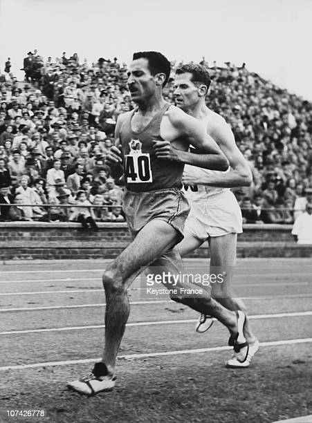 Mimoun Wins The 10000 M At Hanover In Germany On September 18Th 1955