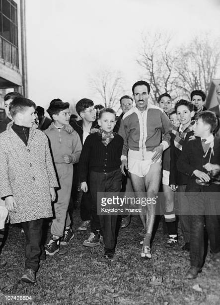 Mimoun Wins The Championship Of Paris Cross Country At Paris In France On February 8Th 1959