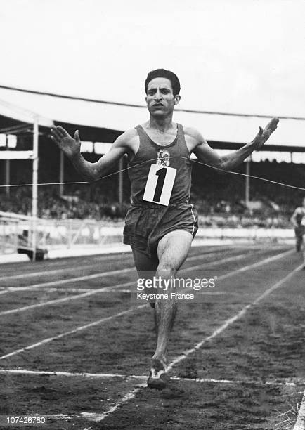 Mimoun Wins The Three Miles Event At The White City At London In England On August 1St 1949