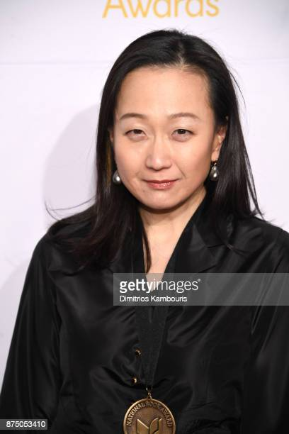 Min Jin Lee attends the 68th National Book Awards at Cipriani Wall Street on November 15 2017 in New York City