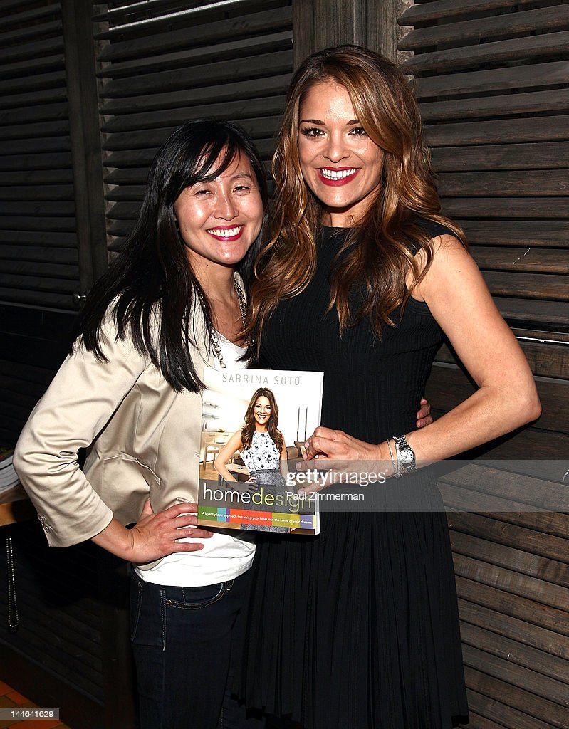 Min Lee And TV Personality Sabrina Soto Attend The Sabrina Soto Home Design  Book Party At