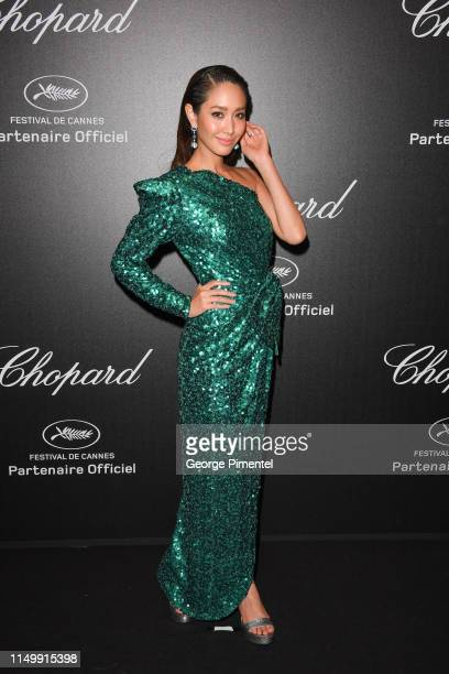 Min Pechaya attends the Chopard Party during the 72nd annual Cannes Film Festival on May 17 2019 in Cannes France