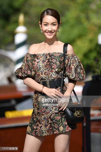 Min Pechaya is seen arriving at the 76th Venice Film Festival on August 30 2019 in Venice Italy