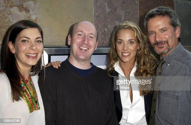 Mina Badie, writer/director Dylan Kidd, Elizabeth Berkley and Campbell Scott