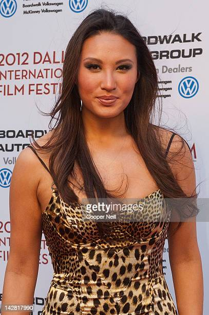 Mina Chang arrives at the 2012 Dallas International Film Festival Opening Night Gala on April 12 2012 in Dallas Texas