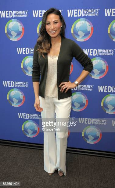 Mina Chang attends 2017 Women's Entrepreneurship Day at The United Nations on November 17 2017 in New York City