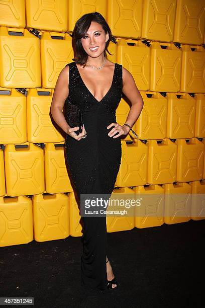 Mina Chang attends the 8th annual charity ball Gala at the Duggal Greenhouse on December 16 2013 in the Brooklyn borough of New York City