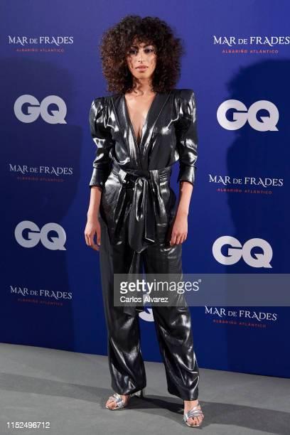 Mina El Hammani attends 'GQ Incontestables' Awards 2019 at Espacio Villanueva on May 29 2019 in Madrid Spain