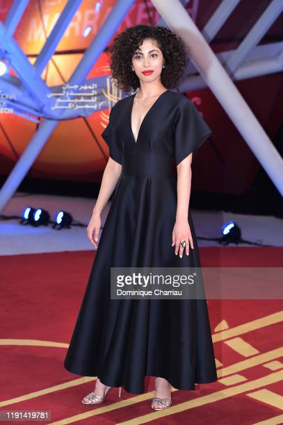Mina El Hammani attends the 18th Marrakech International Film Festival Day One on November 29 2019 in Marrakech Morocco