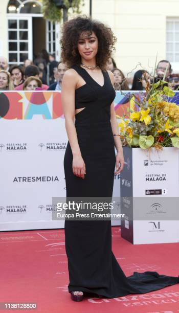 Mina El Hammani attends the Malaga Film Festival 2019 closing day gala at Cervantes Theate on March 23 2019 in Malaga Spain