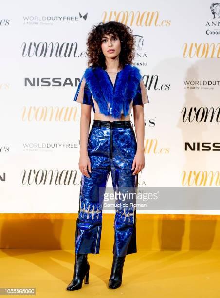 Mina El Hammani attends Woman awards 2018 at the Casino de Madrid on October 30 2018 in Madrid Spain