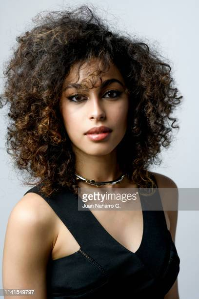 Mina El Hammani poses for a portrait session at Teatro Cervantes during 22nd Spanish Film Festival of Malaga on March 23 2019 in Malaga Spain