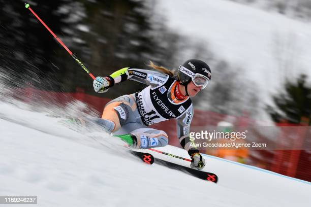 Mina Fuerst Holtmann of Norway competes during the Audi FIS Alpine Ski World Cup Women's Giant Slalom on December 17, 2019 in Courchevel, France.