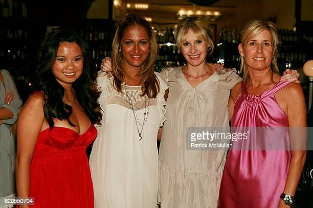 Mina Jacqueline Au Amisha Lakhni Rebecca Taylor and Jill Fairchild attend REBECCA TAYLOR Fashion Week Party at Artisinal Restaurant on September 11...