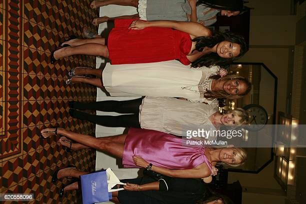 Mina Jacqueline Au Amisha Lakhni Rebecca Taylor and Jill Fairchild attend REBECCA TAYLOR Fashion Week Party at Artisanal Restaurant on September 11...