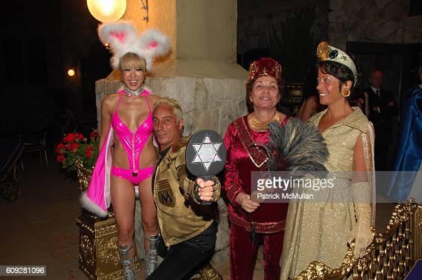 Mina Otsuka Sir Ivan Mr Mitzvah Wilzig Naomi Wilzig and Sherry Wilzig Izak attend WHO WANTS TO BE A SUPERHERO premiere party at Sir Ivan Wilzig...