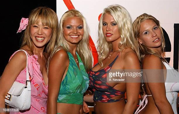 Mina Otsuka with Siren models Nora Michele LaTasha Marzolla and Heidi Hawking