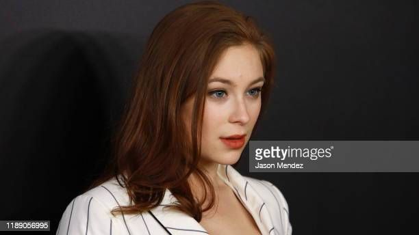 "Mina Sundwall attends ""Bombshell"" New York Screening at Jazz at Lincoln Center on December 16, 2019 in New York City."