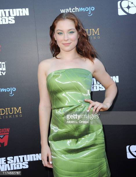 Mina Sundwall attends the 45th Annual Saturn Awards at Avalon Theater on September 13 2019 in Los Angeles California