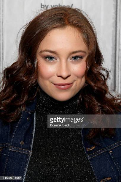 Mina Sundwall attends the Build Series to discuss 'Lost In Space' at Build Studio on December 17 2019 in New York City
