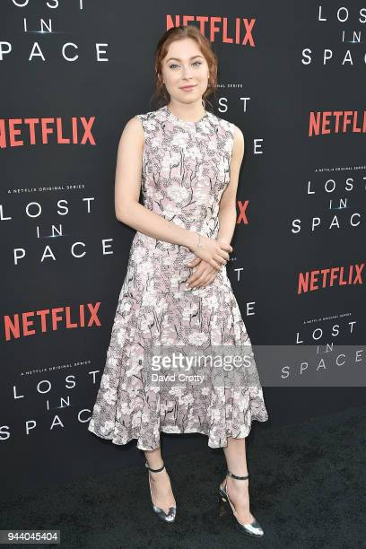 Mina Sundwall attends the Lost In Space Season 1 Premiere at ArcLight Cinerama Dome on April 9 2018 in Hollywood California
