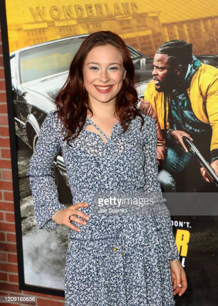 Mina Sundwall attends the Netflix Premiere Spenser Confidential at Westwood Village Theatre on February 27, 2020 in Westwood, California.