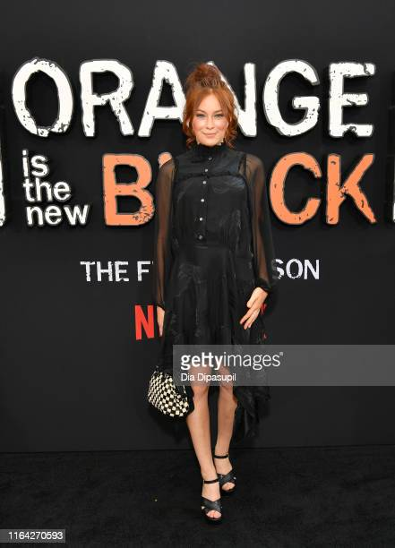 Mina Sundwall attends the Orange is the New Black Season 7 World Premiere Screening and Afterparty 2019 on July 25 2019 in New York City